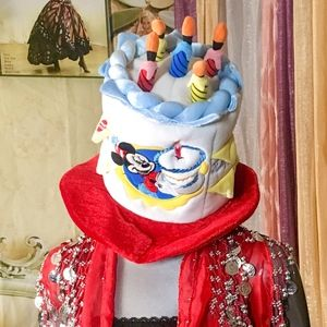 Disney Happy Birthday Cake Candles Hat